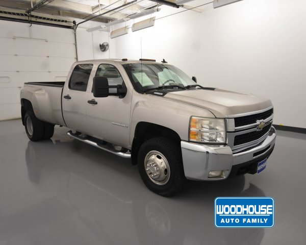 Pre-Owned 2008 Chevrolet Silverado 3500HD DRW LT w/1LT
