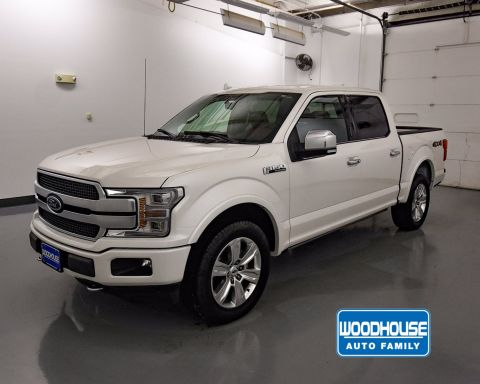 Pre-Owned 2018 Ford F-150 PLATINUM SB 4WD
