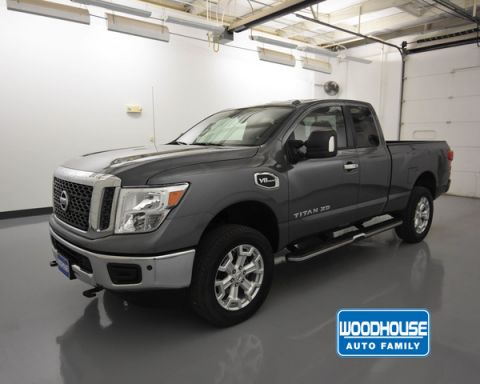 Pre-Owned 2018 Nissan Titan XD 4x4 Gas King Cab Sv